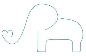 Elefantenkind
